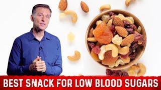 The Best Snacks Food For Low Blood Sugar : Dr.Berg