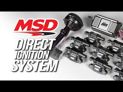 MSD Direct Ignition System (DIS) Kits for Traditional V8 engines
