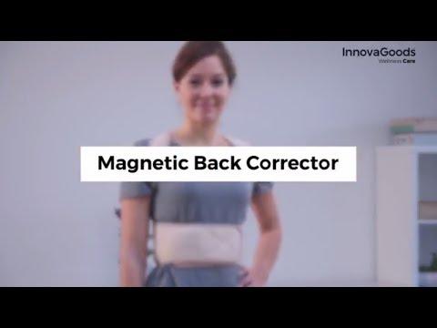 Podporni pas za hrbet InnovaGoods Magnetic Posture M
