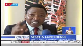 Kenya Academy of Sports holds sports conference to exchange ideas