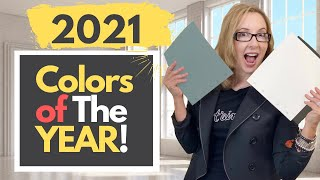 2021 COLORS OF THE YEAR...REVEALED!!!
