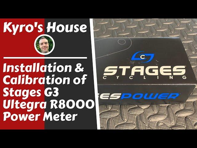 Видео Шатуны с паверметром Stages Power Meter Shimano Ultegra R8000 52-36T черные