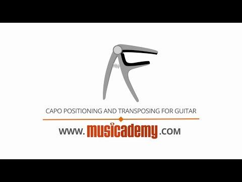 Capo Positioning & Transposing for Worship Guitar