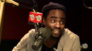 Wale stops by the Angie Martinez Show