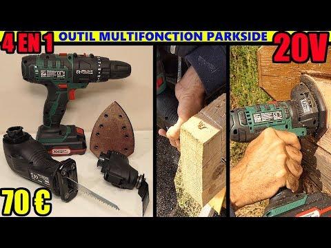 Attrezzo 20v multifunzione 4 in 1 parkside lidl pkga 20 for Smerigliatrice angolare lidl