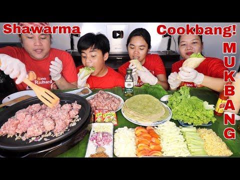 Beef Shawarma Cookbang Pinoy Mukbang!