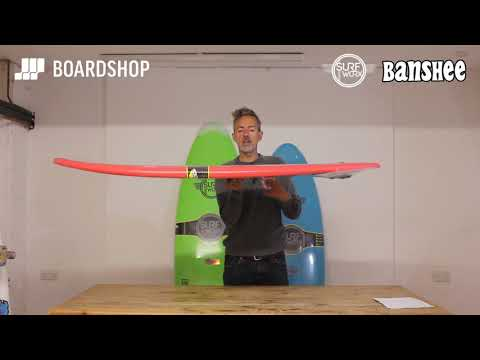 Surfworx Banshee Hybrid Surfboard Review