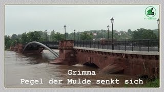 preview picture of video 'Grimma - Tag nach der Flut'