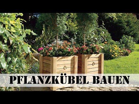 Pflanzkübel aus Holz bauen