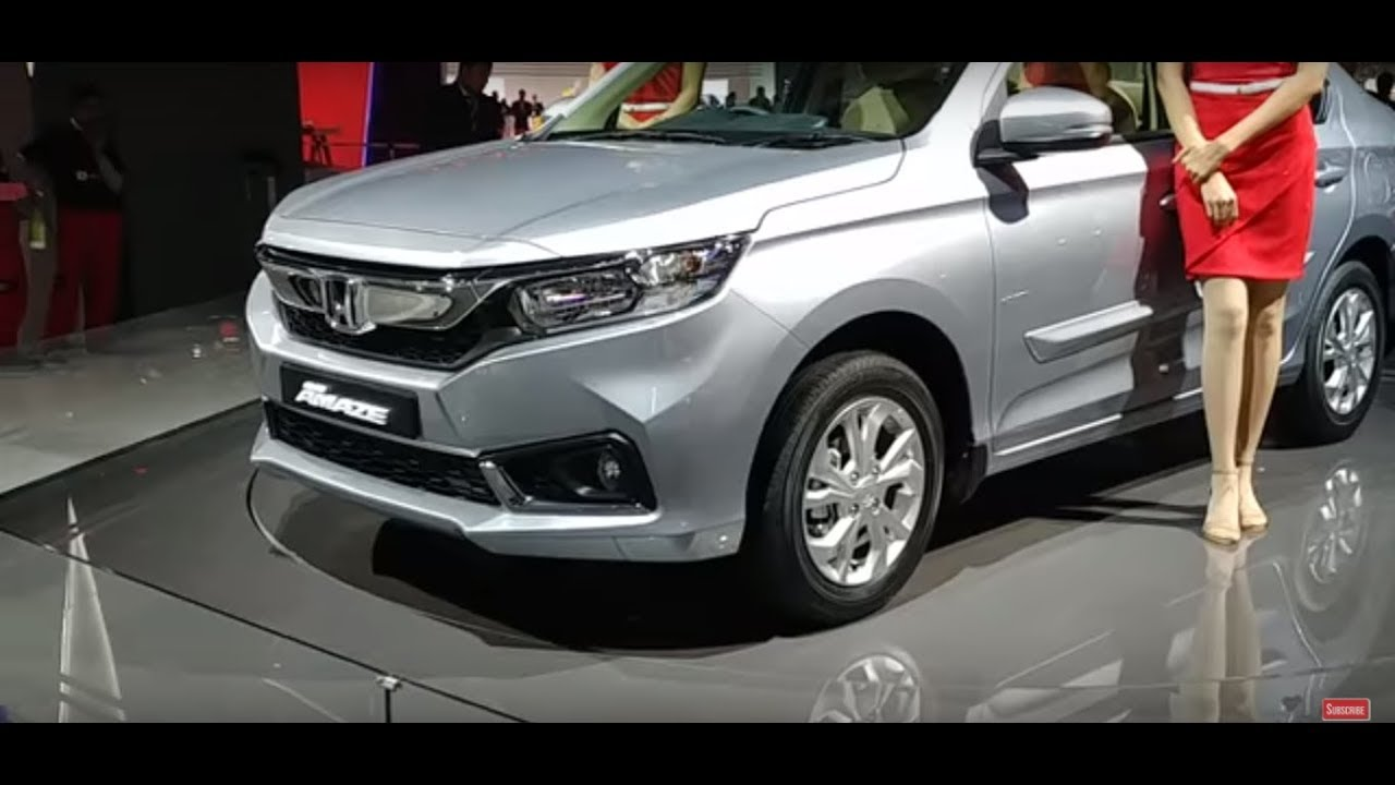 Motoroctane Youtube Video - 2018 Honda Amaze Walkaround in Hindi - EXCLUSIVE | Auto Expo 2018 | MotorOctane