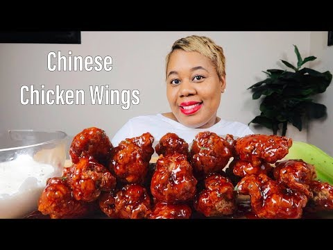 FRIED CHICKEN WINGS DRENCHED IN SWEET &  SOUR SAUCE