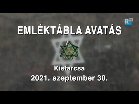 Emléktábla avatás Kistarcsán - 2021. szeptember 30.