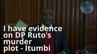 Itumbi: I've a video to prove my claims - VIDEO