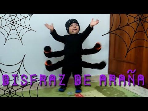 Disfraz de Araña para niños