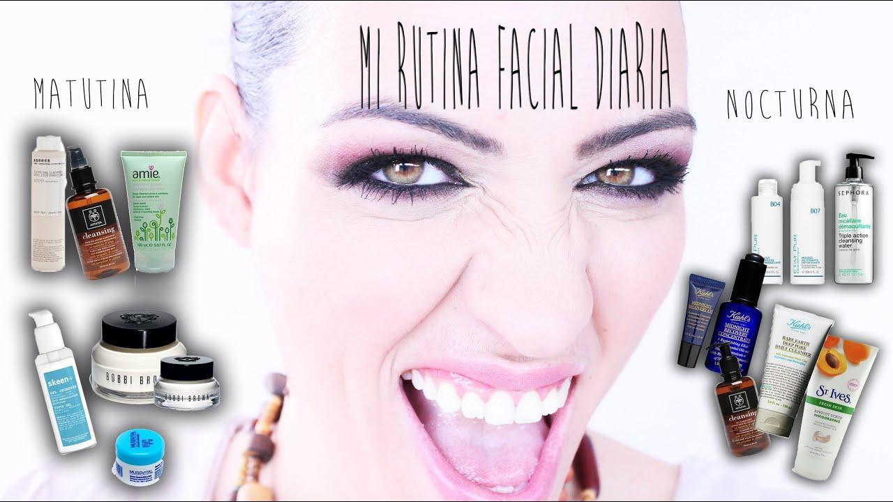 NonaMakeUp: Mi rutina Facial diaria (Etat pur, Sephora, Khiels, Apivita, Skeen+, Amie)