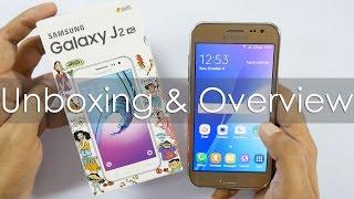 SamsungGalaxyJ2Budget4GSmartphoneUnboxing&Overview