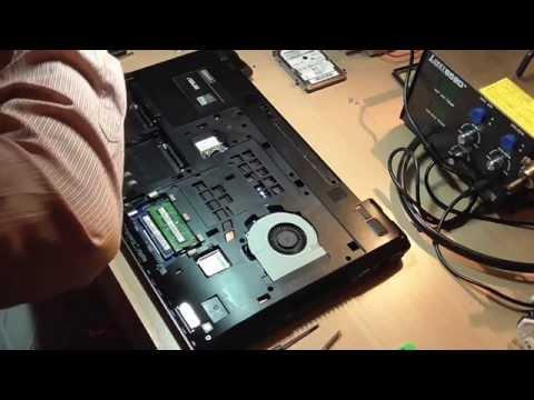 Чистка системы охлаждения ноутбука ASUS K75VJ