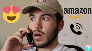FLIRTING WITH AMAZON SUPPORT!!! (PRANK CALL)