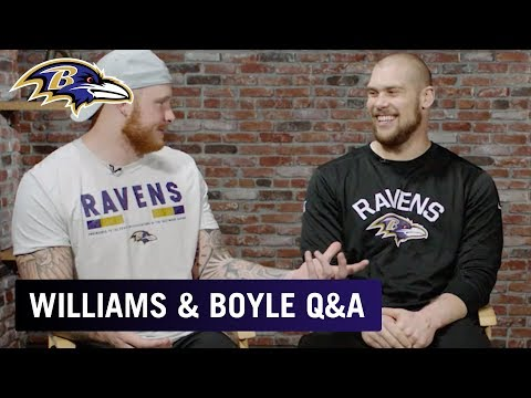 Maxx Williams & Nick Boyle Share Secrets From Rookie Camp | Baltimore Ravens Q&A