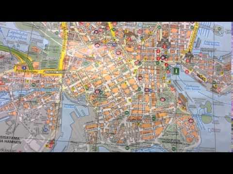 Helsinki map (Карта Хельсинки)