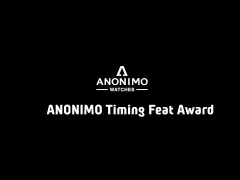 WRC Gala 2018 - ANONIMO Timing Feat Award 2018