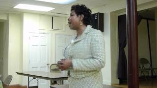 preview picture of video 'Yvette Opening Statement Part 3 at PHDR on April 2012'