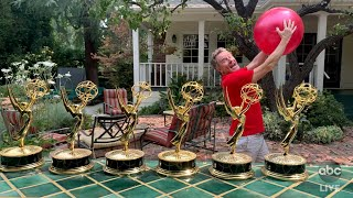Celebrities Reveal What They've Been Doing in Quarantine at the Emmys