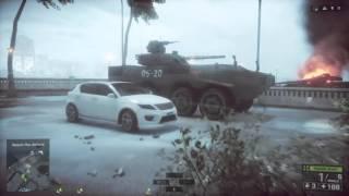 Battlefield 4 Hard Mode Singapore Tanks
