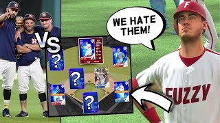 players who HATE the ASTROS team build.. MLB THE SHOW 20 DIAMOND DYNASTY