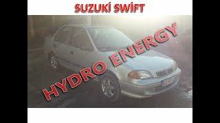 Suzuki Swift hidrojen yakıt sistem montajı