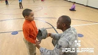 Soldier Surprises Son After Stint in Southeast Asia