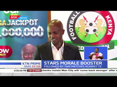 Harambee Stars receive Ksh. 5M boost, as Odibets becomes a motivation partner