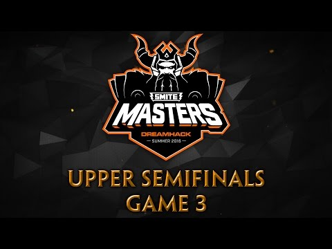 SMITE Masters Semifinals - Panthera vs. Team Eager (Game 3)