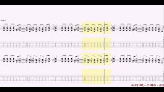 Guns N'Roses Tabs - Welcome To The Jungle (rhythm)