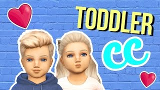 The Sims 4  || HUGE Custom Content Haul || Toddlers