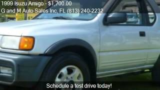 1999 Isuzu Amigo for sale in Riverview, FL 33578 at the G an