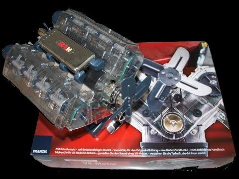 Detailansichten V8-Motor zum selber bauen /