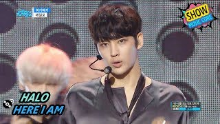 [HOT] HALO - HERE I AM, 헤일로 - 여기여기 Show Music core 20170715