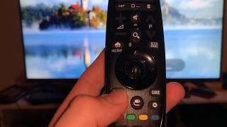 LG UHD TV Smart Fernseher (55UH7509) Web OS 3.5 Funktionen und Optionen Ultra HD (4K) Anleitung