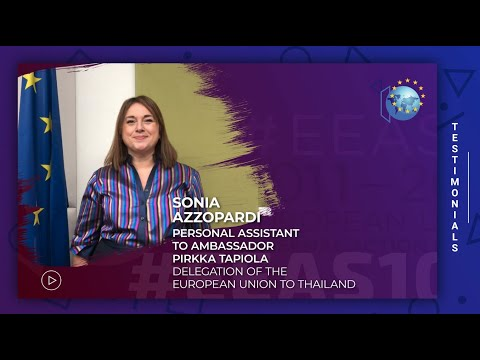 EEAS10 Staff testimonial - Sonia Azzopardi