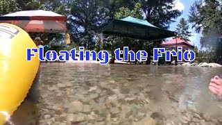 Concan, Texas  Float the Frio River 2020