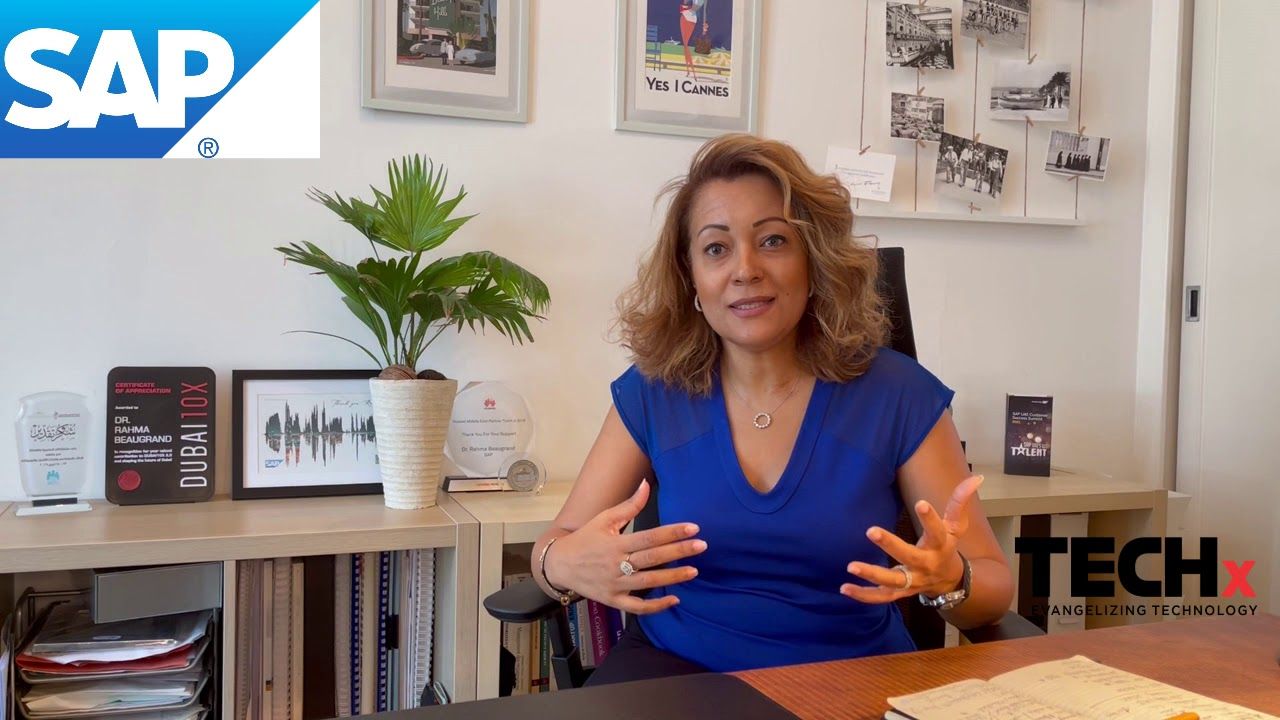 Dr. Rahma Beaugrand from SAP on IWD 2021