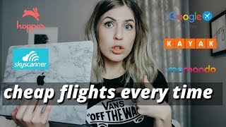 HOW TO BOOK CHEAP FLIGHTS | Tips For Booking Cheap Flights & Best Flight Booking Websites | 2020