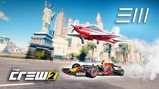 The Crew 2 - F1 Car vs Plane | Fastest from Los Angeles to Las Vegas Wins!