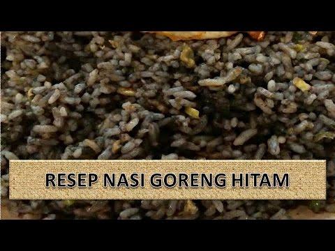 Video RESEP NASI GORENG HITAM