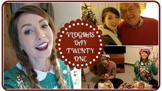Family Festivities & Opening Presents | VLOGMAS