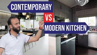 Contemporary Vs Modern Kitchen   Woodofa