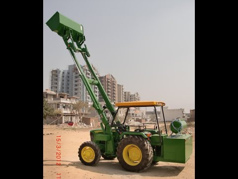 Tractor Attachment -- Front End Loader - Tractor Husk Loader