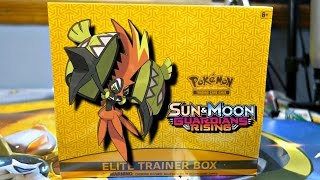 Pokemon Cards - OPENING A GUARDIANS RISING ELITE TRAINER BOX!!! by JordanJapanNintendoFan