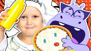 ПРОДАВЕЦ ПИЦЦЫ Нужен новый товар Готовим пиццу с Pizza Osmo Видео для детей Развивающие игры